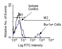 Flow Cytometry / FACS - Bu1a antibody [21-1A4] - BSA and Azide free (ab25373)