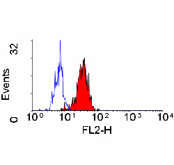 Flow Cytometry / FACS - CD84  antibody [CD84.1.21] (Phycoerythrin) (ab33218)