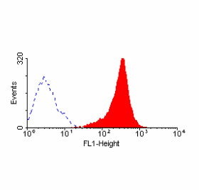 Flow Cytometry - Anti-Fas [LOB 3/17] antibody (FITC) (ab33227)