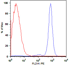 Flow Cytometry / FACS - Endomucin antibody [RCAB0007M-FB] (Biotin) (ab45772)