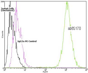 Flow Cytometry - Hsc70 antibody [1B5] (Phycoerythrin) (ab65170)