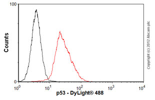 Flow Cytometry - Anti-p53 antibody [PAb 240] (ab26)
