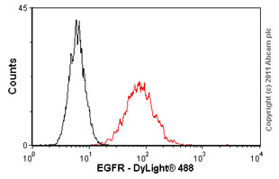 Flow Cytometry - EGFR antibody [F4] (ab62)