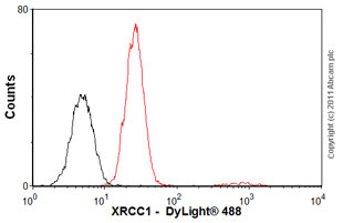 Flow Cytometry - Anti-XRCC1 antibody [33-2-5] (ab1838)