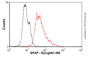 Flow Cytometry-Anti-GFAP antibody [GF5] - Astrocyte Marker(ab10062)