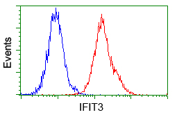 Flow Cytometry - Anti-IFIT3 antibody [1G1] (ab118045)
