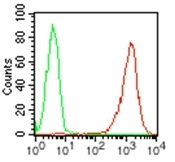 Flow Cytometry - Anti-Podoplanin / gp36 antibody [NZ-1.2] (Phycoerythrin) (ab121043)