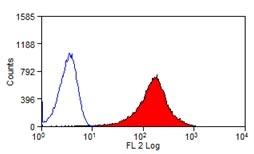 Flow Cytometry - Anti-CD276 antibody [MJ8] (Phycoerythrin) (ab124057)