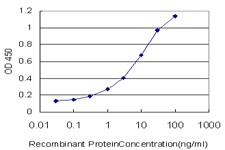 Sandwich ELISA - Anti-DNA Ligase I antibody [10G12] (ab125095)