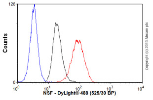 Flow Cytometry-Anti-NSF antibody [NSF-1](ab16681)