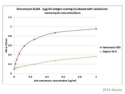 ELISA - Anti-Vancomycin antibody (ab19968)