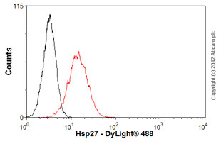 Flow Cytometry-Anti-Hsp27 antibody [G3.1](ab2790)