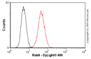 Flow Cytometry - Rab9 antibody [Mab9] (ab2810)