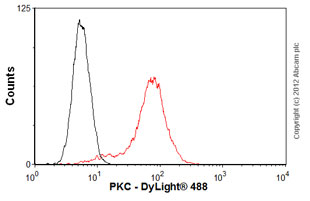 Flow Cytometry-Anti-PKC antibody [M110](ab23511)