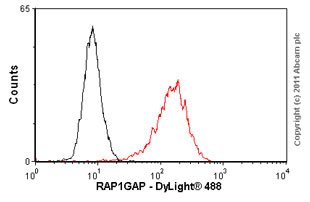 Flow Cytometry-Anti-RAP1GAP antibody [Y134](ab32373)