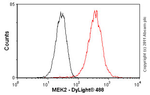 Flow Cytometry - MEK2 antibody [Y78] (ab32517)