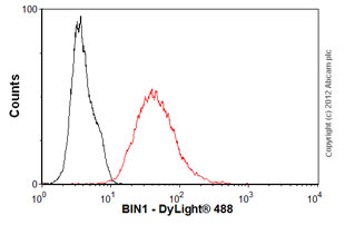 Flow Cytometry-Anti-BIN1 antibody(ab54764)