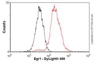 Flow Cytometry-Egr1 antibody(ab54966)