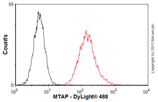 Flow Cytometry-Anti-MTAP antibody(ab55517)