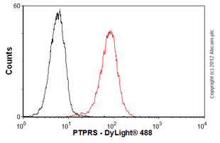 Flow Cytometry - Anti-PTPRS antibody (ab55640)