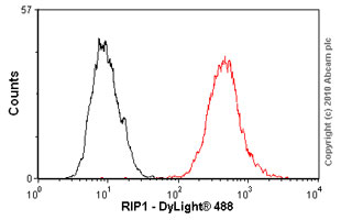 Flow Cytometry - Anti-RALBP1 antibody (ab56815)