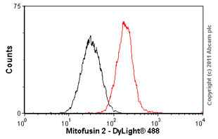 Flow Cytometry - Mitofusin 2 antibody (ab56889)
