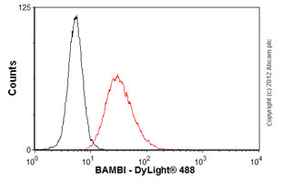 Flow Cytometry - Anti-BAMBI antibody (ab57043)