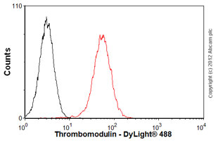 Flow Cytometry-Anti-Thrombomodulin antibody [PBS-01](ab6980)
