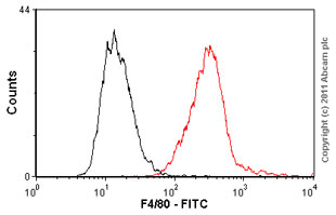 Flow Cytometry - F4/80 antibody [BM8] (FITC) (ab60343)