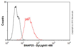 Flow Cytometry-Anti-SNAP25 antibody(ab66066)