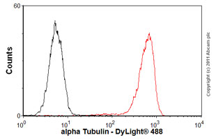 Flow Cytometry-Anti-alpha Tubulin antibody [DM1A] - Loading Control(ab7291)