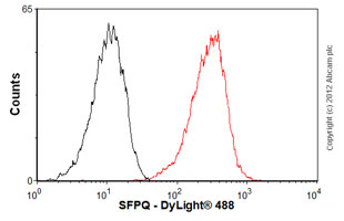 Flow Cytometry-Anti-SFPQ antibody(ab76955)