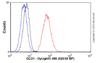 Flow Cytometry - Anti-GLO1 antibody [6F10] (ab81461)