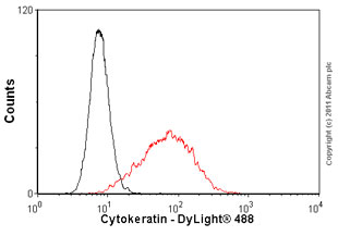 Flow Cytometry-Anti-Cytokeratin antibody [MNF116], prediluted(ab82612)