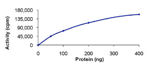 Functional Studies - HIPK3 protein (Active) (ab85601)