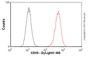 Flow Cytometry-Anti-CD59 antibody [MEM-43/5](ab9183)