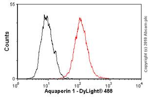 Flow Cytometry - Anti-Aquaporin 1 antibody [1/22] (ab9566)