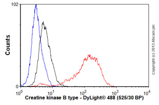 Flow Cytometry - Anti-Creatine kinase B type antibody [EPR3926] (ab108388)