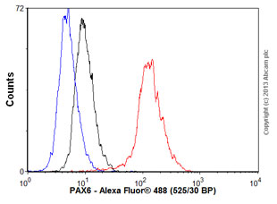 Flow Cytometry - Anti-PAX6 antibody [EPR3352(2)] (ab109233)