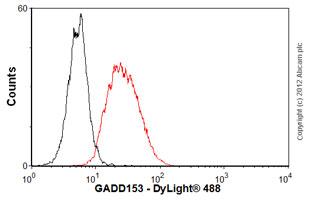 Flow Cytometry - Anti-DDIT3 antibody [9C8] (ab11419)