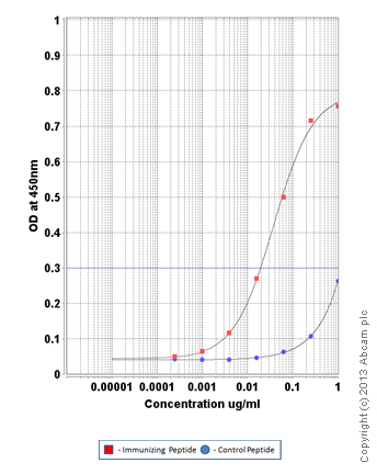 ELISA - Anti-Src (phospho Y418) antibody (ab110777)