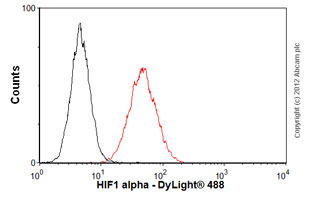 Flow Cytometry - Anti-HIF-1-alpha [1A3] antibody (ab113642)