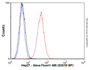 Flow Cytometry - Anti-Hsp27 antibody [G3.1] (ab115846)