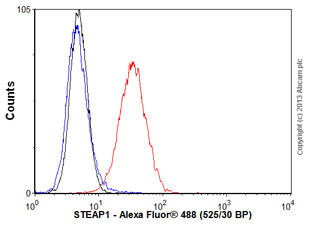 Flow Cytometry - Anti-STEAP1 antibody [J2D2] (ab117454)