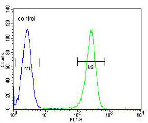Flow Cytometry - Anti-OR2W3 antibody - C-terminal (ab170353)