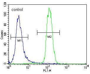 Flow Cytometry - Anti-LETM2 antibody - N-terminal (ab170773)