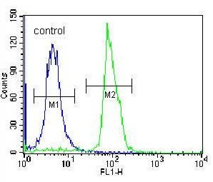 Flow Cytometry - Anti-SEMA4C antibody - C-terminal (ab171559)