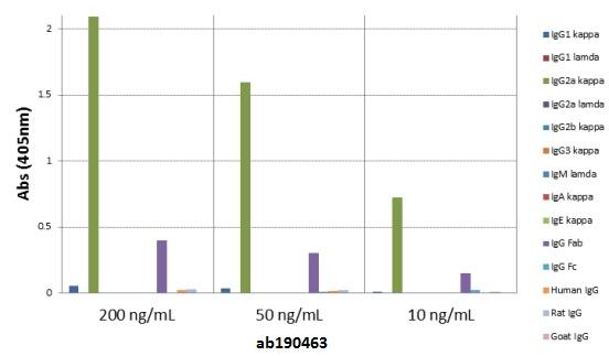 ELISA - Anti-Mouse IgG2a [RM107] antibody (ab190463)