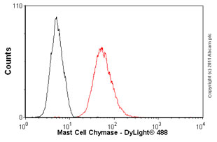 Flow Cytometry - Anti-Mast Cell Chymase antibody [CC1] (ab2377)