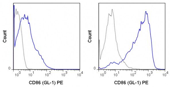 Flow Cytometry - Anti-CD86 antibody [GL1] (Phycoerythrin) (ab25284)